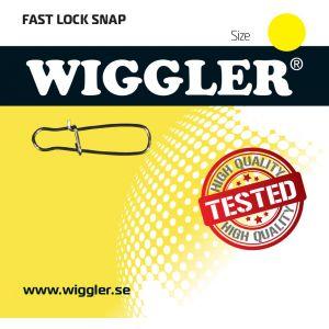 Wiggler Fast Lock beteslås silver 10-pack