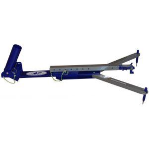 Jaw Jacker spöhållare med inbyggd linutlösare blå/silver