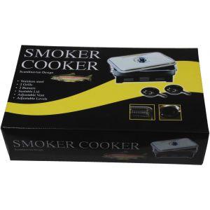 Wiggler rostfri rök med 2 brännare