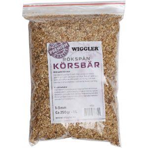 Wiggler Körsbärsspån för rök 250 g/1 liter