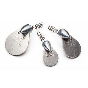 Svartzonker Screw-in-lip jiggskalle silver 1-pack