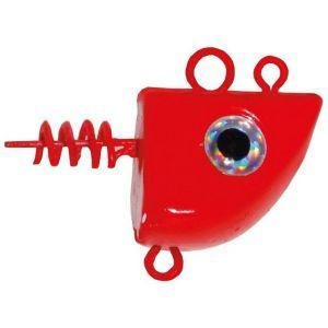 Wiggler Trac jiggskalle röd fluo 2-pack