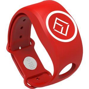 MOB+ WiMEA Armband för xFOB enhet till MOB+ systemet röd