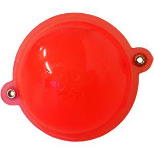 Buldo Rund kastflöte med metallringar röd 1-pack
