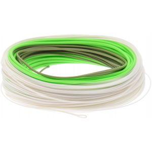 Scierra Salmon Integrated II fluglina flyt/sjunk 1 vit/ljusgrön/grön