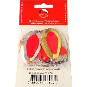 G. Erikssons Fiskeredskap Kvarting 50 röd (KSG) 1-pack