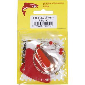 Lidmans Fiskeredskap Lill-Släpet koppar/röd (K) 1-pack