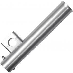 Wiggler Aluminium spöhållare 40 x 250 mm silver