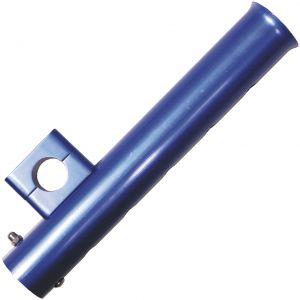 Wiggler Aluminium spöhållare 40 x 250 mm blå