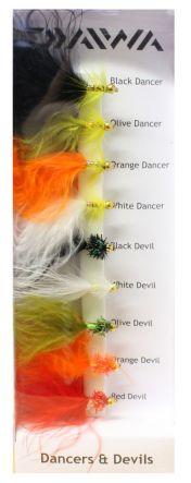 Daiwa Dancers & Devils flugor 9-pack