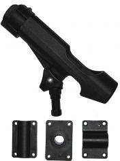 Wiggler Spöhållare inkl. 3 fästen svart